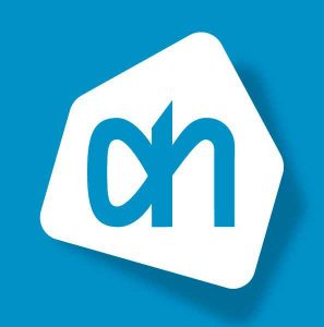 Het Albert Heijn logo.