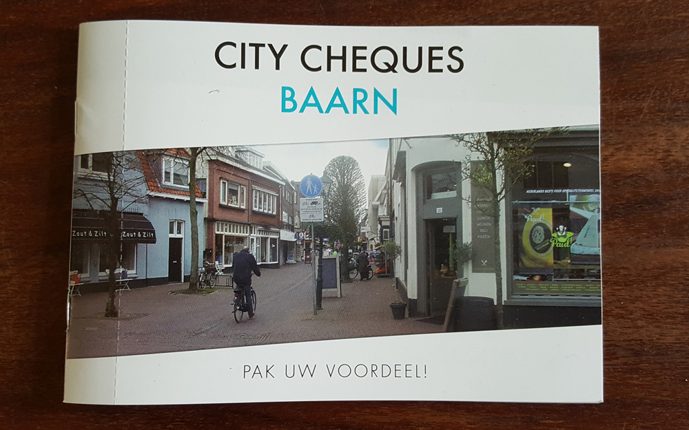 Citymarketing met City Cheques