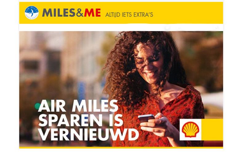 Extraatje naast Air Miles sparen bij Shell