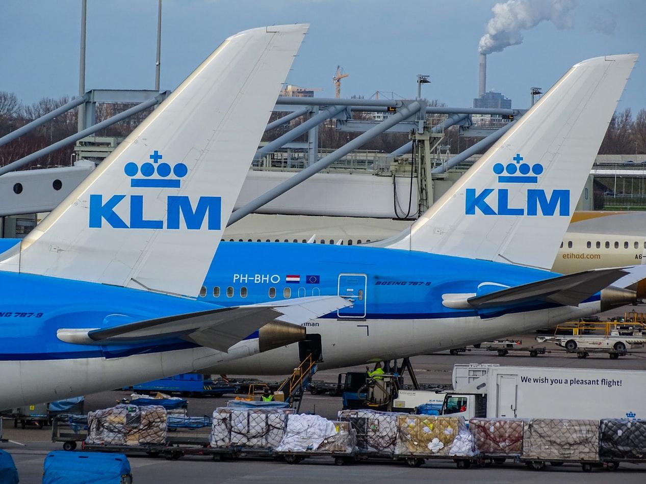 Welkom thuis van KLM