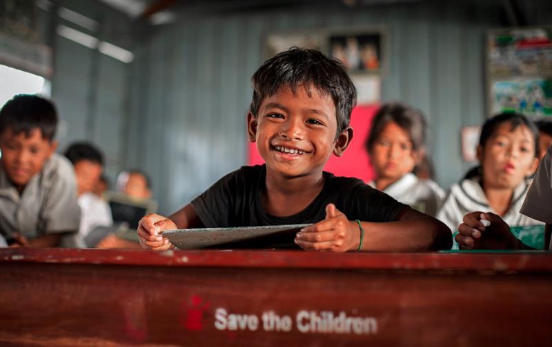 Een compliment van Save the Children